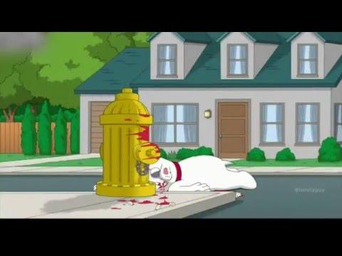 Family Guy Peter breaks Brian's teeth