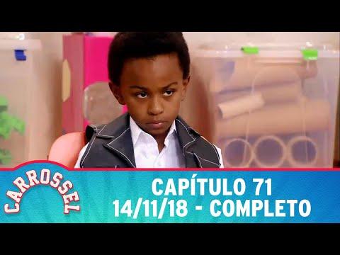 Carrossel   capítulo 71 - 14/11/18, completo