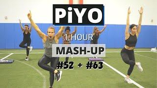 PiYO MashUP #52+ #63 | At HOME Workout | No Equipment Full Body Strength + Tone + Cardio | Yoga Flow