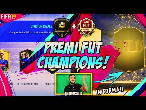 PREMI FUT CHAMPIONS + DIVISION RIVALS PACK OPENING FIFA 19 ULTIMATE TEAM!