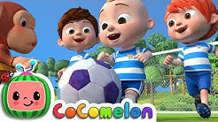 The Soccer (Football) Song | CoComelon Nursery Rhymes & Kids Songs