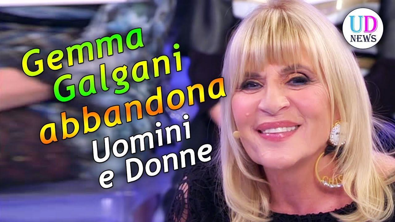 Gemma Galgani abbandona Uomini e Donne  YouTube