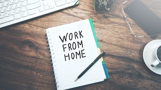 4 methods to work from home WITHOUT an office