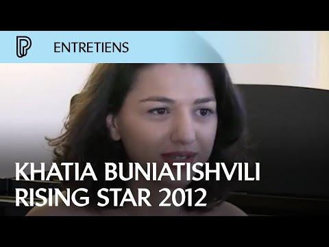 Rencontre avec Khatia Buniatishvili - Récital à la Salle Pleyel le 19/11 2012