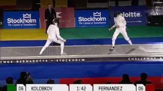 Challenge Bernadotte 2008 Final Kolobkov vs Fernandez