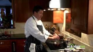 Duck With Saffron-honey Glaze, Asparagus, And Wild Rice