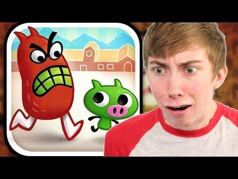 Gesundheit! - EATING BOOGERS (iPad Gameplay Video)