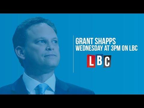 Conservative Chairman Grant Shapps - Live On LBC