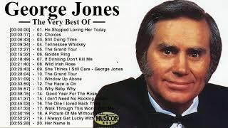 George Jones Greatest Hits - George Jones Best Songs