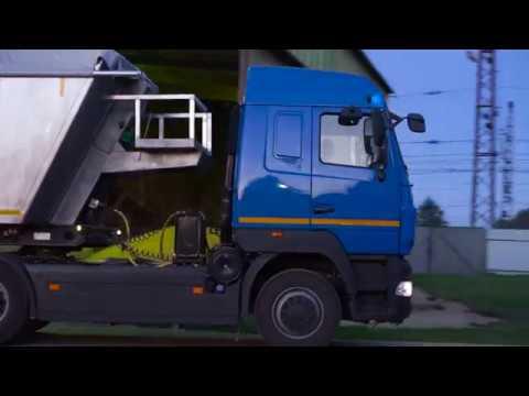 Полуприцеп-зерновоз Тонар-9523 C алюминиевым кузовом