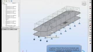 Structural Analysis for Revit - konstrukční analýza BIM modelu