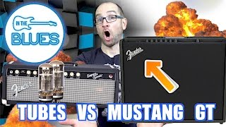 Fender Mustang GT200 Amplifier vs Fender Super-Sonic 60 (BLIND TEST)