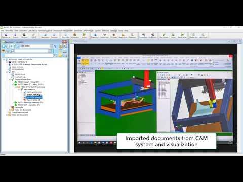 Alphacam Interface | WorkPLAN ERP Solutions