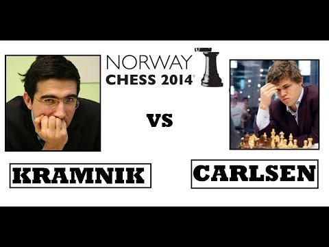 Norway Chess 2014. Kramnik vs Carlsen: Catalan opening