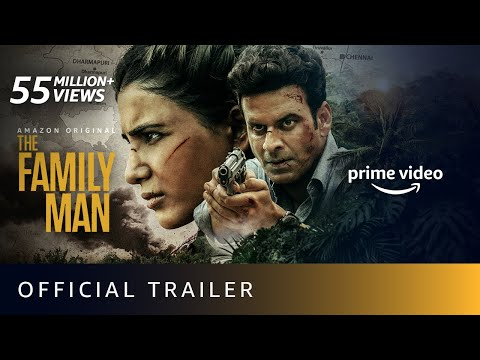 The Family Man Season 2 - Official Trailer 4K   Raj & DK   Manoj Bajpayee, Samantha  Amazon Original