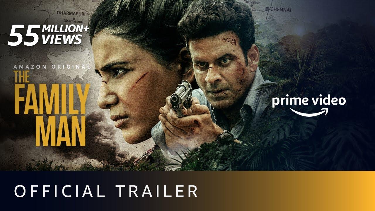 Download The Family Man Season 2 - Official Trailer 4K   Raj & DK   Manoj Bajpayee, Samantha  Amazon Original