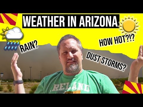 Arizona Weather: How Hot Is Phoenix Arizona (Moving / Living in Phoenix Arizona)