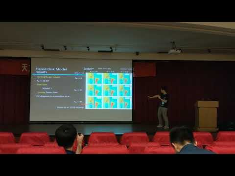 2018 ASROC (astronomy Taiwan conference) Chenghan Hsieh's presentation