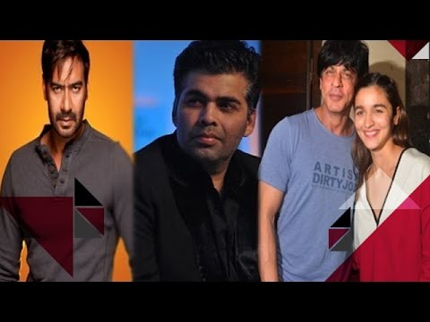 Ajay Compares Karan Johar To His Little Finger | Shah Rukh & Alia Pamper 'Dear Zindagi's' Crew