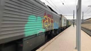 Tren de Mercancías Low Cost Rail Valencia-Alicante por Elda.