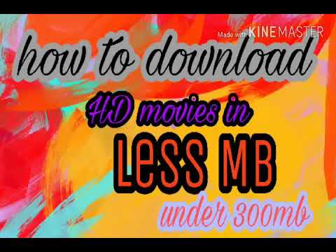 How to download HD movies under 200- 300mb only !! Just and Must Watch • links in description •