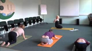 Урок Йоги по выравниванию пупочного центра