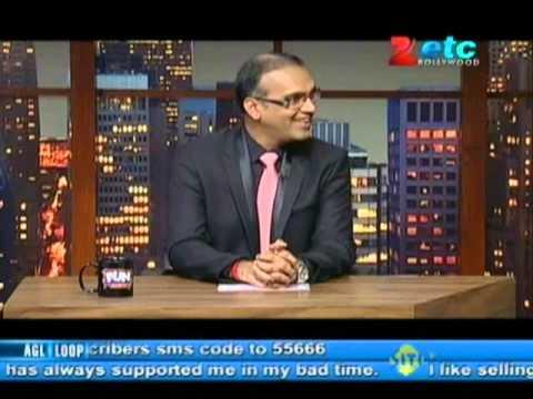 Vikram Bhatt With Komal Nahta