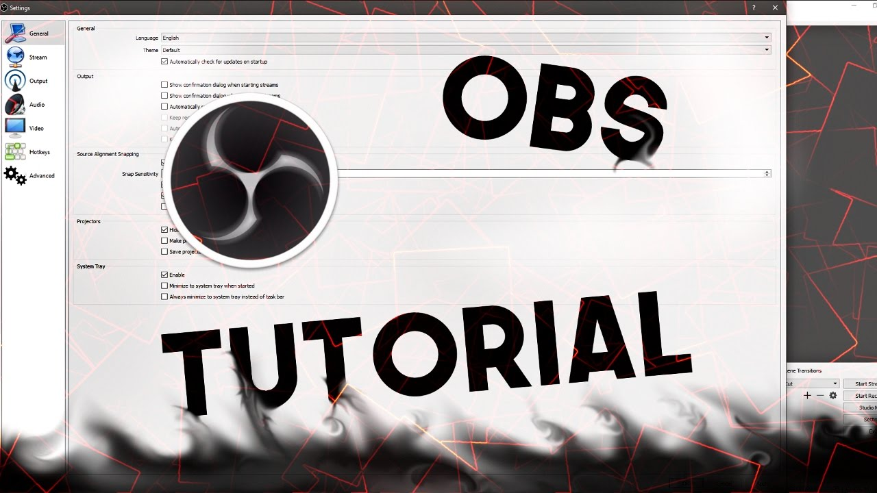 OBS 1080p 60FPS AMD Encoder Settings and Tutorial