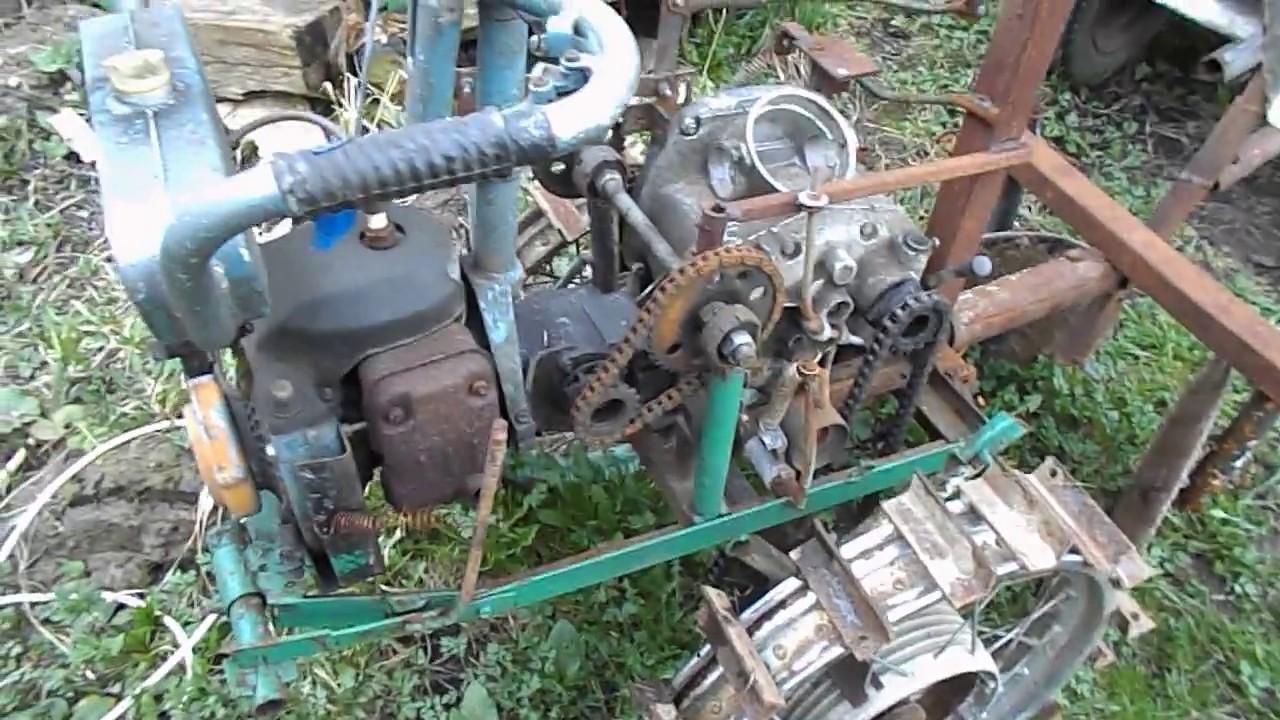 Мотоблок из бензопилы своими руками 625