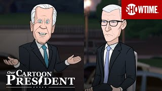 'Cartoon Trump & Biden's Dueling Town Halls' Ep. 311 Cold Open   Our Cartoon President