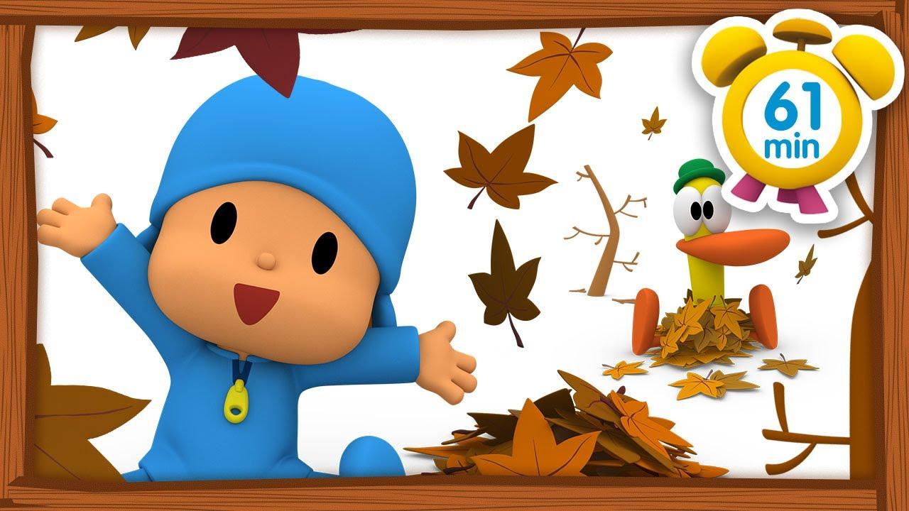 🍁🦔  POCOYO FRANÇAIS - A la faveur de l'automne [61 min] | DESSIN ANIMÉ pour enfants