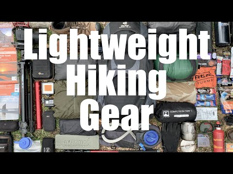 Lightweight Backpacking And Wild Camping Gear.  The Kit I Carried On The Norfolk Coast Path.