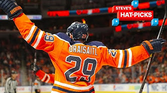 NHL Plays Of The Week: Leon Draisaitl Is Ridiculous! | Steve's Hat-Picks