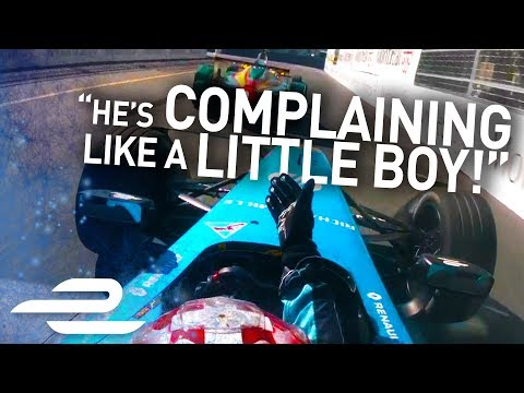 'He Hit Me On Purpose!' Unseen Onboards + Team Radio - Montreal - Formula E