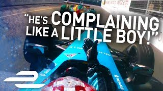 """He Hit Me On Purpose!"" Unseen Onboards + Team Radio - Montreal - Formula E"
