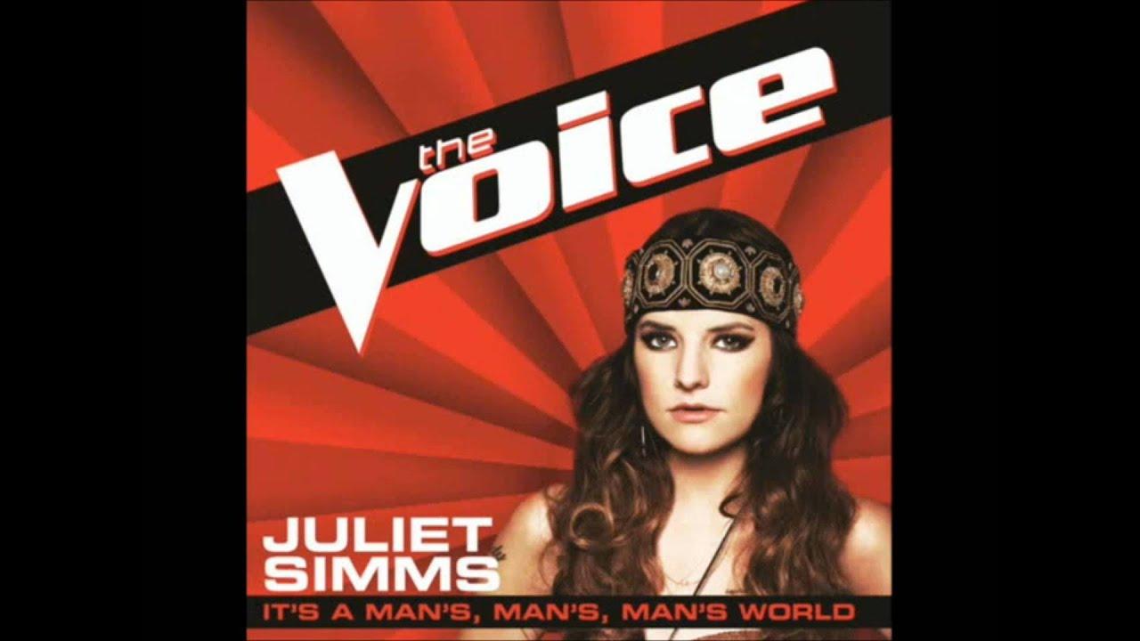 Juliet Simms - It's a Man's, Man's, Man's World (The Voice ...