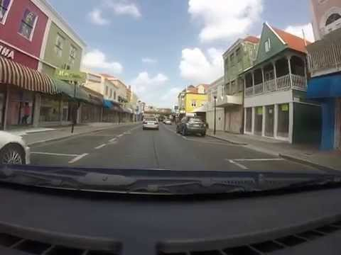 Curacao - Driving around in your car in Otrobanda