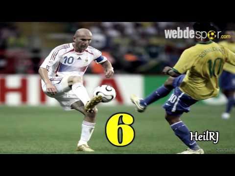 Ronaldinho ve Zidane'den En İyi 10 Gol