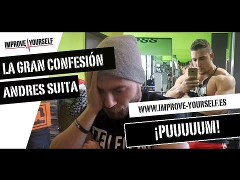 La confesión de Andrés Suita - No es natural, consume esteroides - Opinión - Improve Yourself