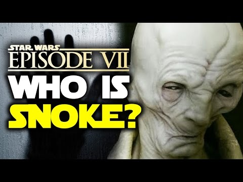 WHO IS SNOKE? Every Theory Revealed! Star Wars Episode 7: The Force Awakens