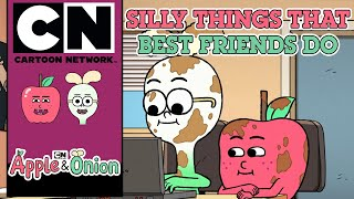 Apple & Onion | Silly Things that Best Friends Do | Cartoon Network UK 🇬🇧