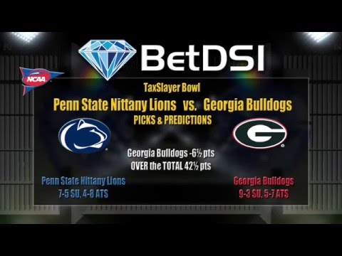 TaxSlayer Bowl Odds | Penn State Nittany Lions vs Georgia Bulldogs Betting Picks