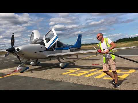 Can a Cirrus SR22 private aircraft beat a commercial jet lik