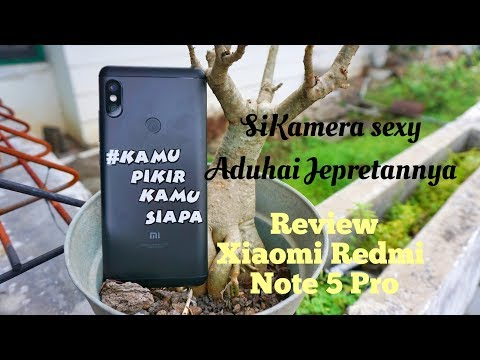 Review Xiaomi Redmi Note 5 Pro Kameranya Sexy Siih!! First Xiaomi Vertical Camera. Bahasa Indonesia