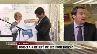André Boisclair Relevé De Ses Fonctions?