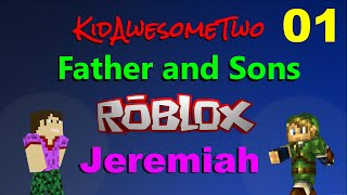 "Roblox Father and Son Jeremiah - Ep 1 ""Murder Mystery 2"""