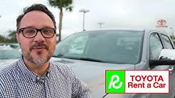 Toyota Rent a Car - Try it before you buy it!