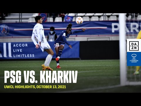 HIGHLIGHTS   PSG vs. WFC Kharkiv - UEFA Women's Champions League 2021-22 (França