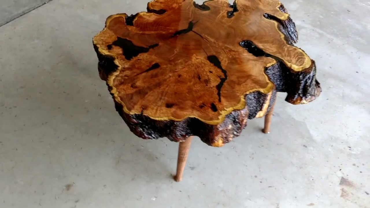 Mesquite Burl Coffee Table