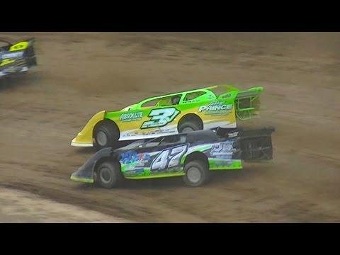 Crate Late Model Heat Two | McKean County Raceway | 7-28-16